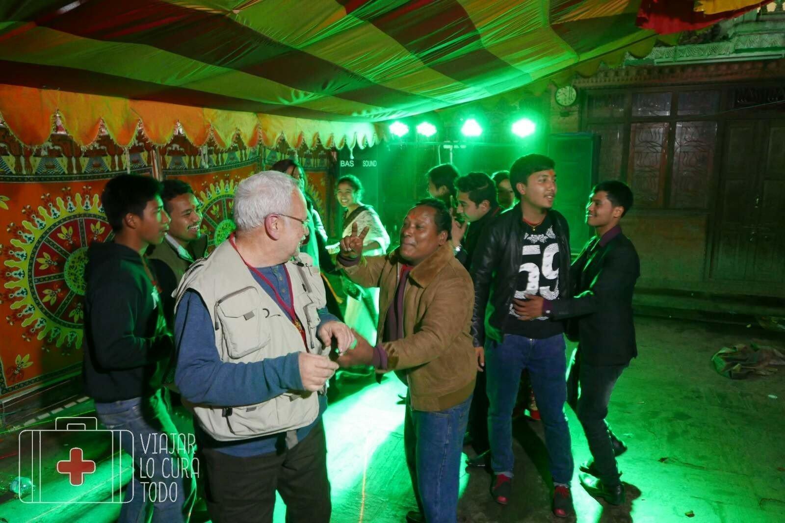De fiesta en Bhaktapur
