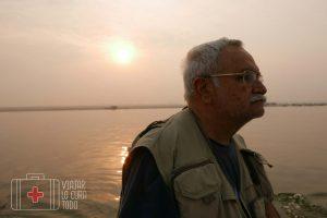 Paseo en barca por el Ganges
