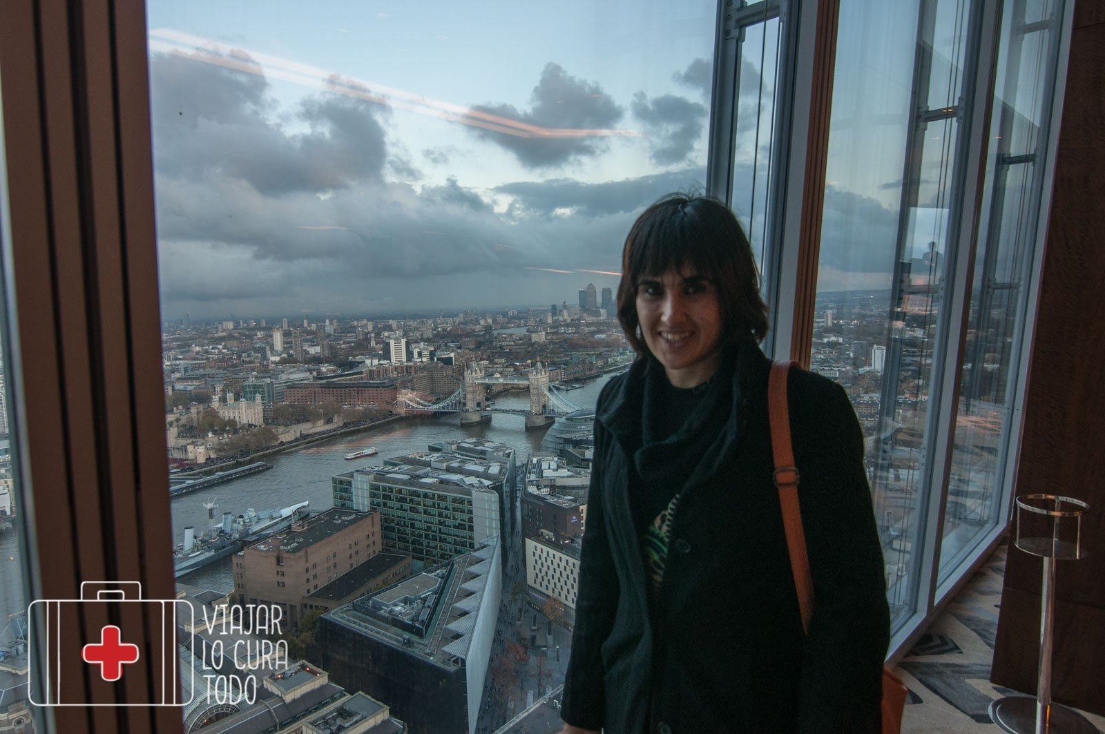 vistas desde The Shard