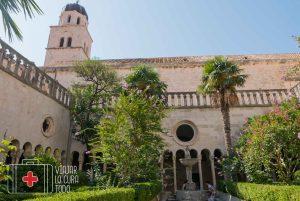 franciscan cloister garden Dubrovnik