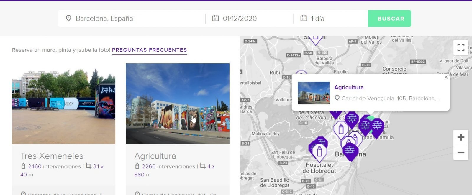 wall spot Barcelona