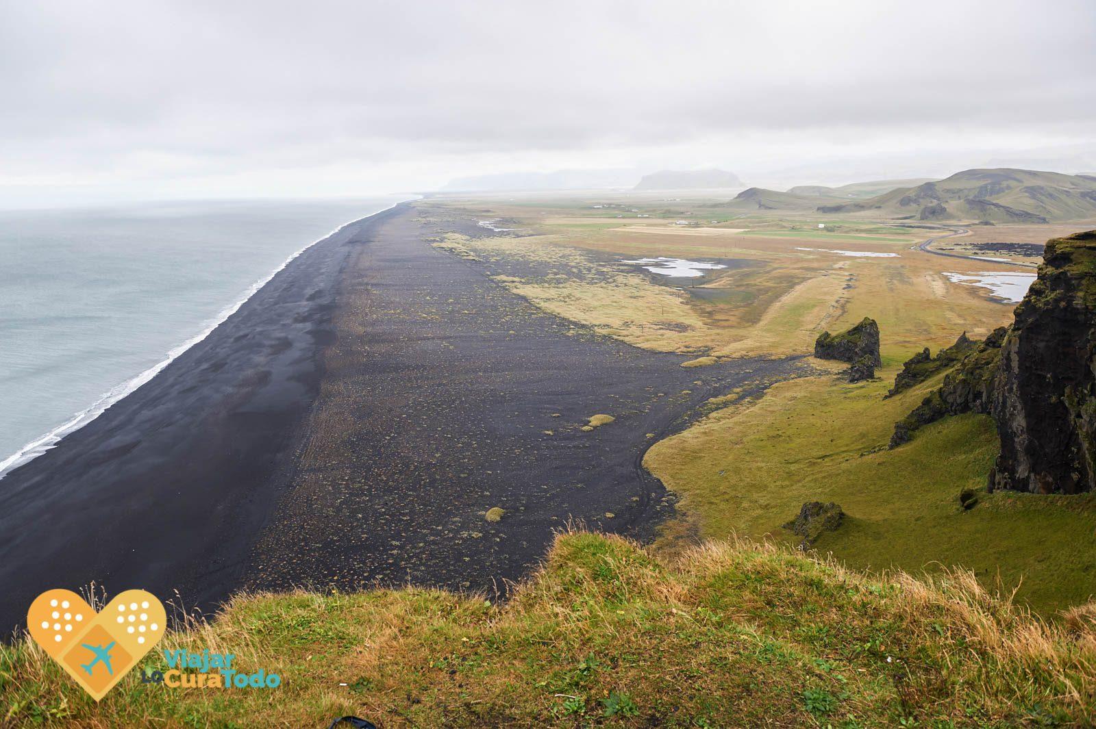 Dyrhólaey black beach