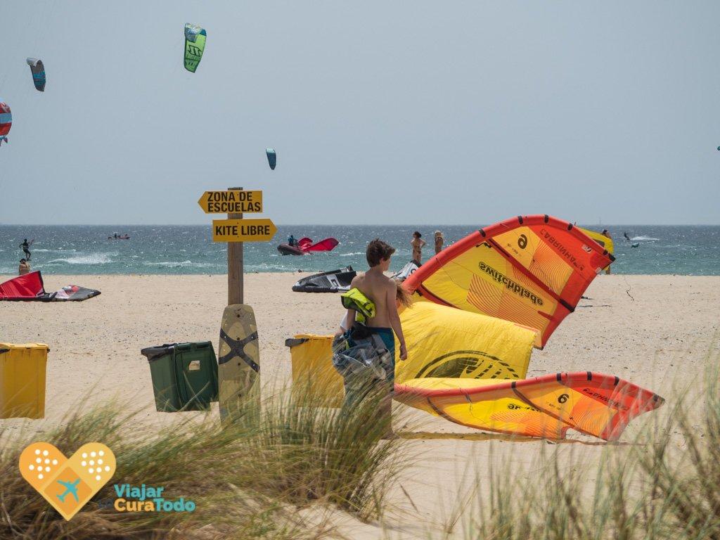 playa escuelas de kitesurf