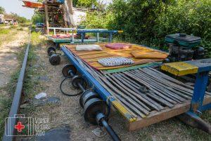 El tren de bambú de Battambang