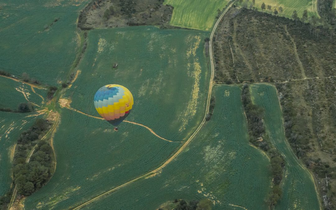 Volar en globo en Cataluña