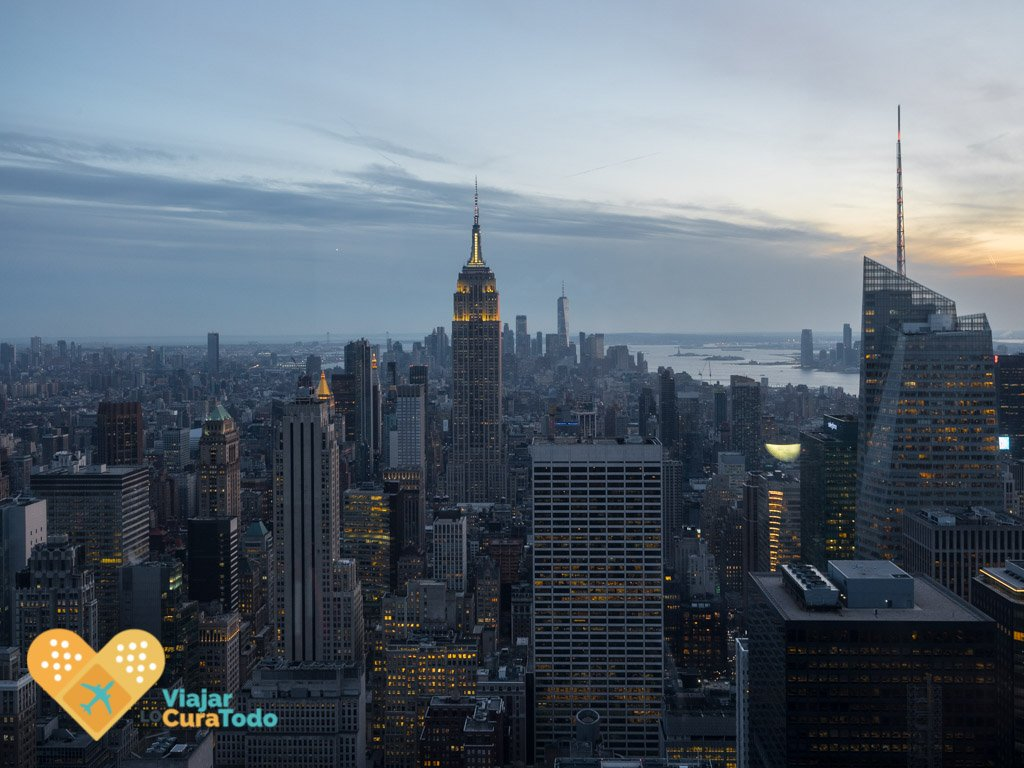 Empire State desde Top of the Rock