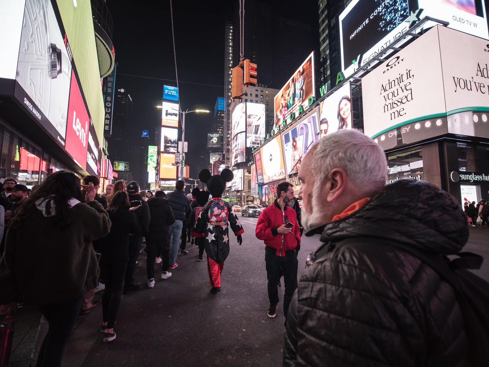 Viajar a Nueva York con padres