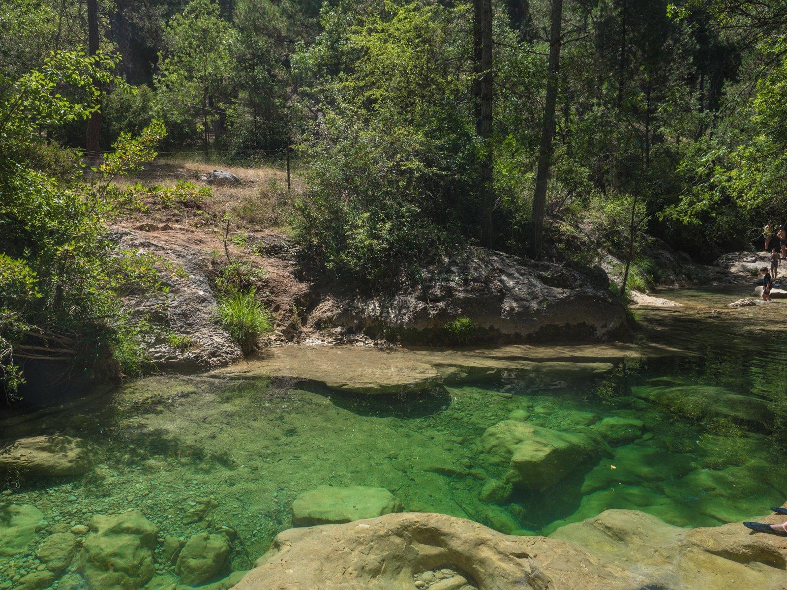 Piscinas naturales en Cazorla