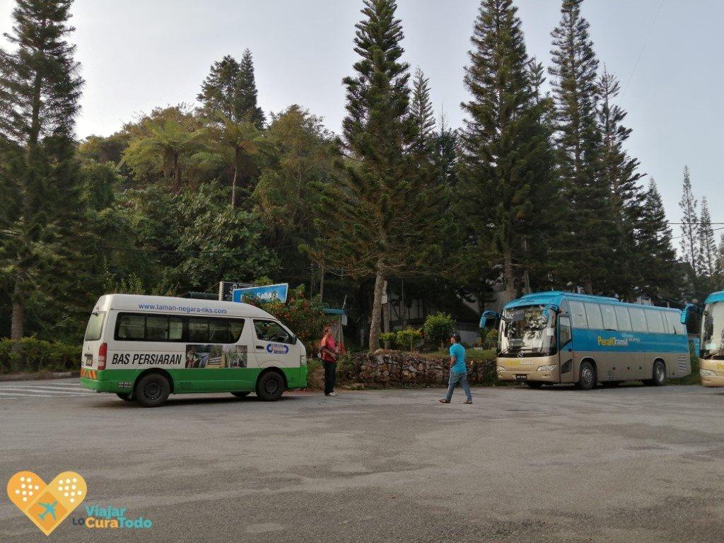 transporte taman negara