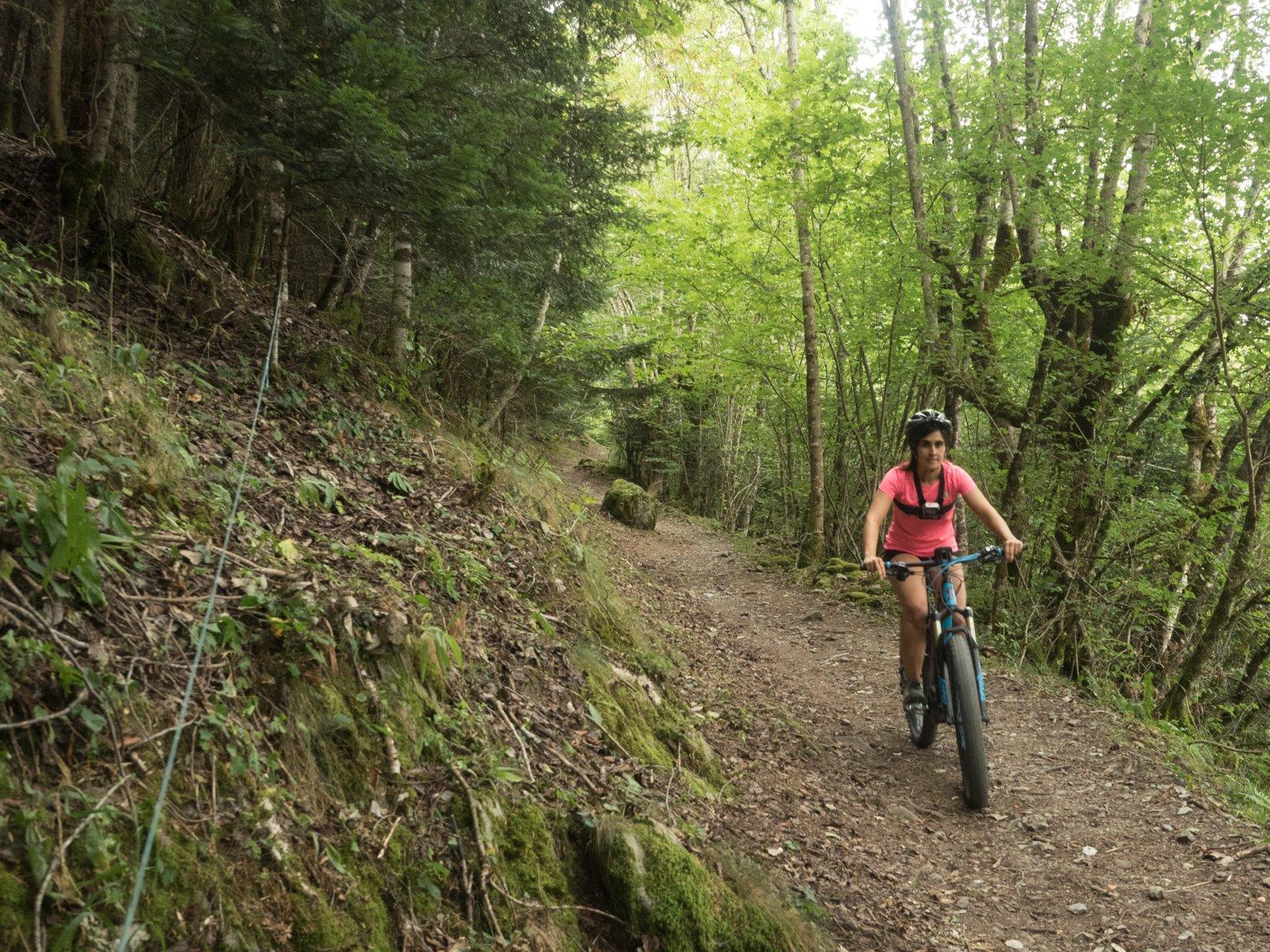 Ruta en bicicleta eléctrica en Val d'Aran