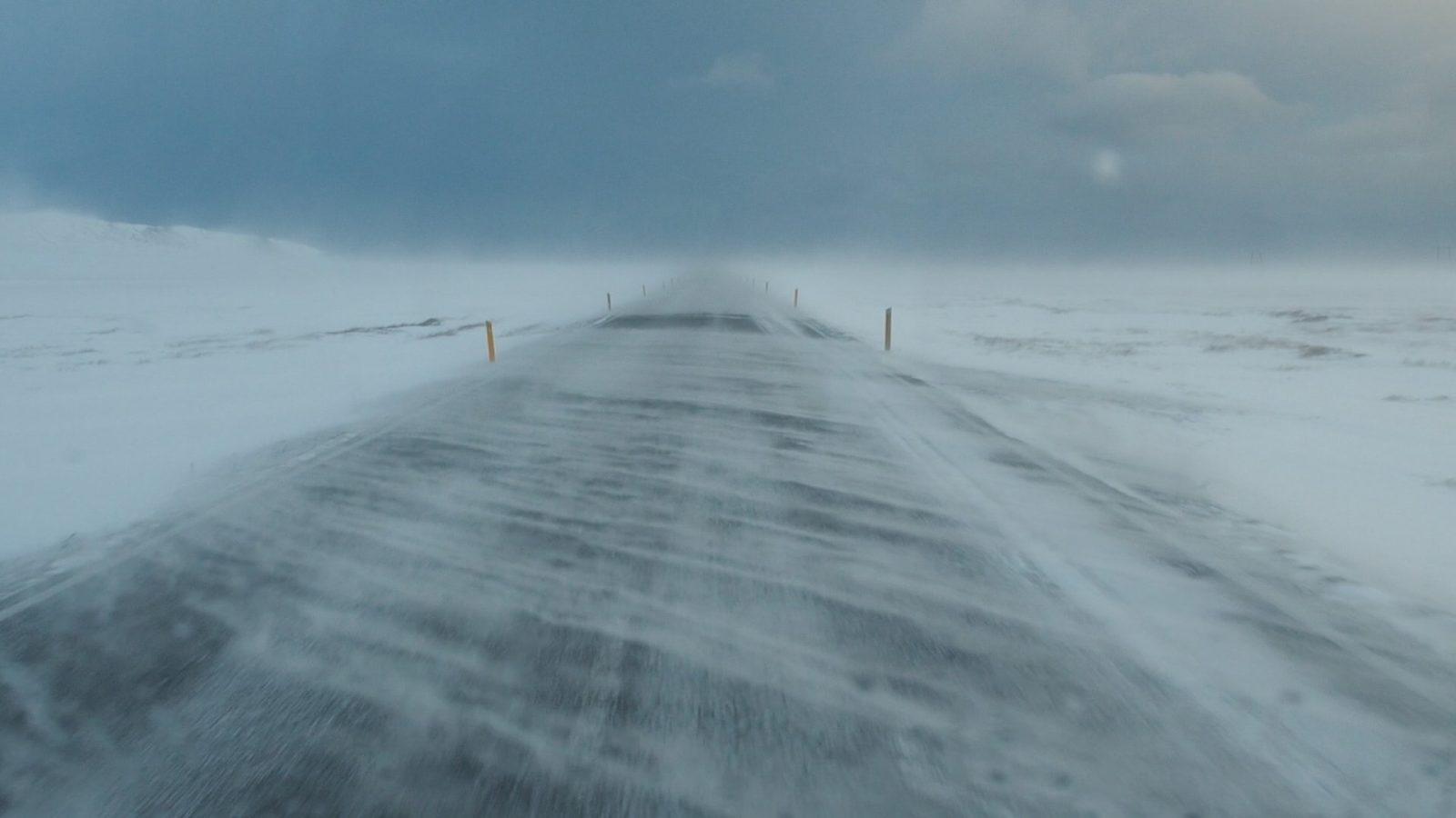tormenta en Islandia