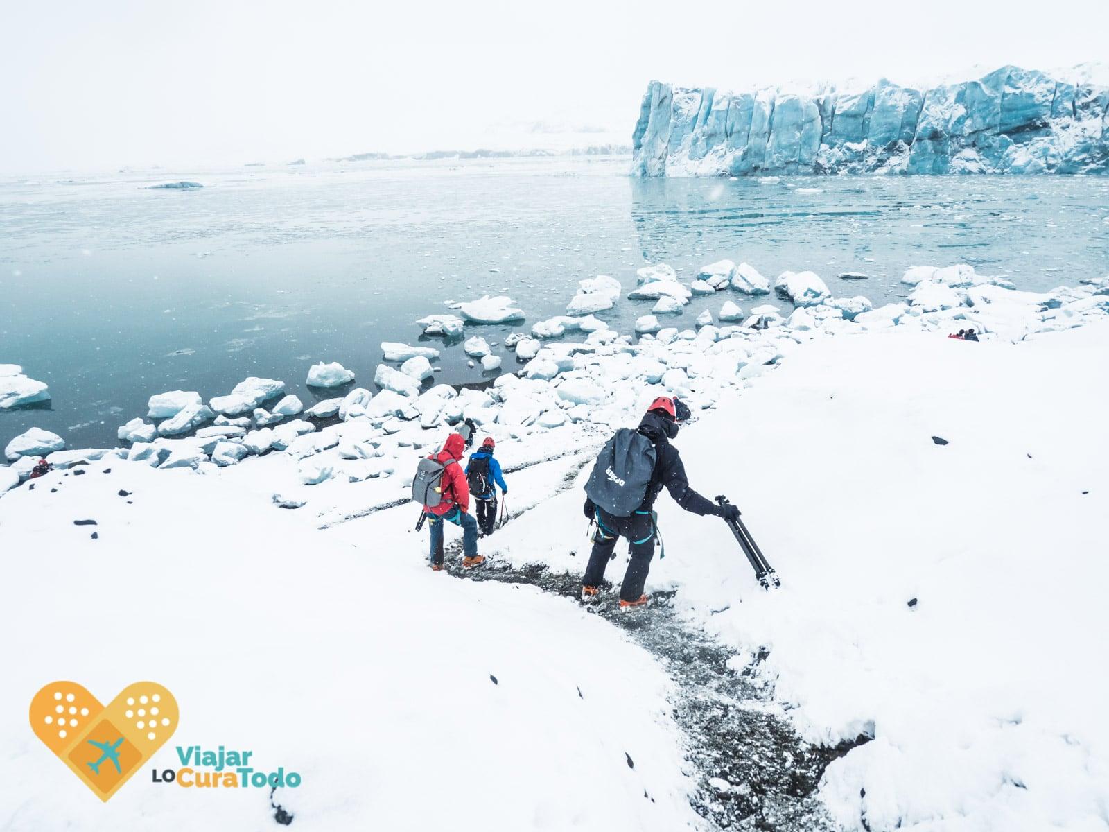 jokursarlon cueva de hielo