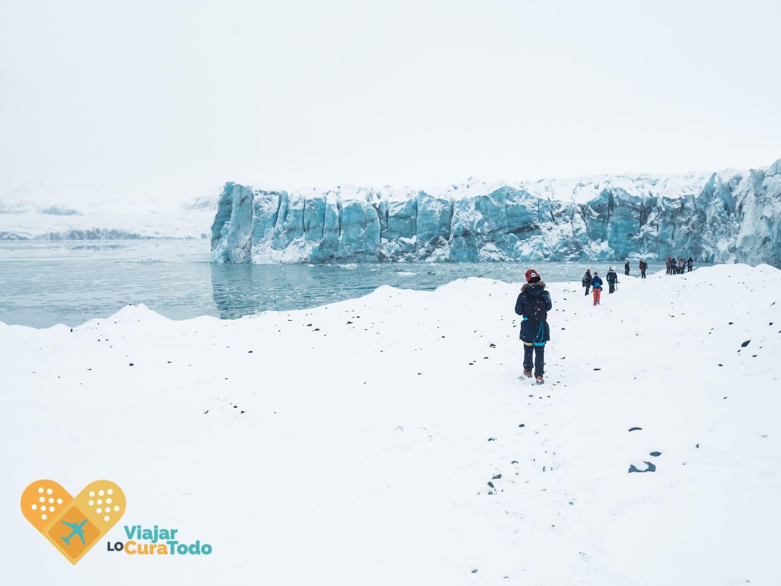 excursión cueva de hielo islandia