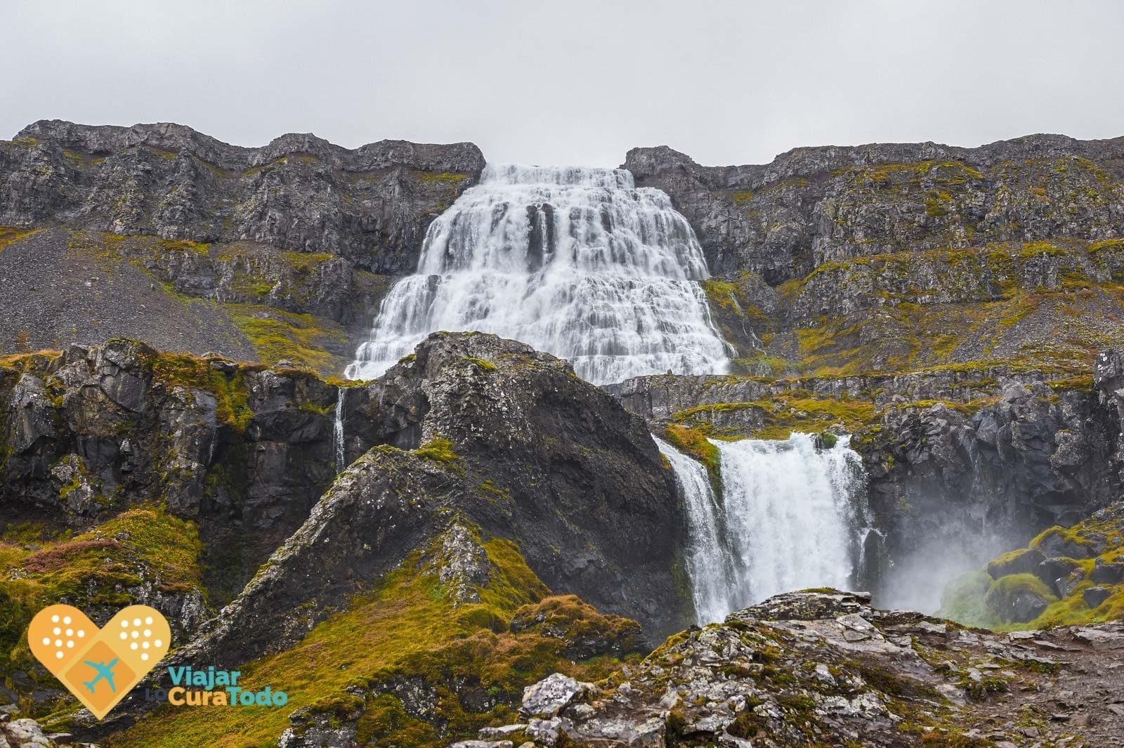 cascada dynjandi islandia