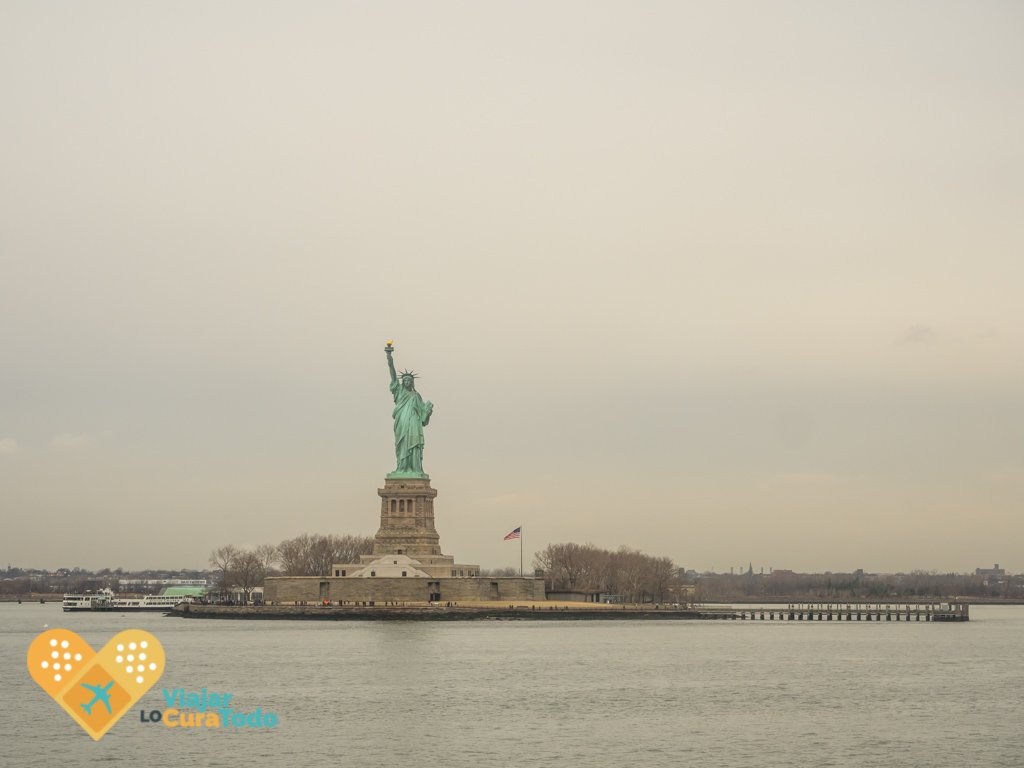 Liberty Statue from Staten Island