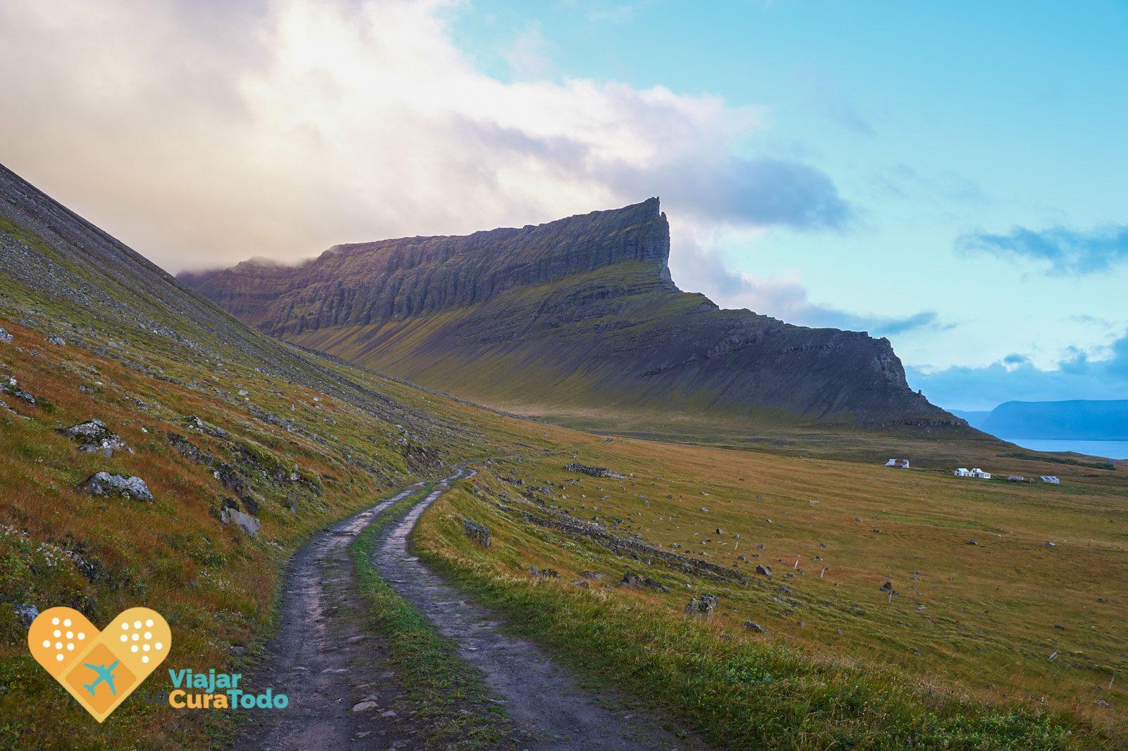 fiordos del oeste islandia
