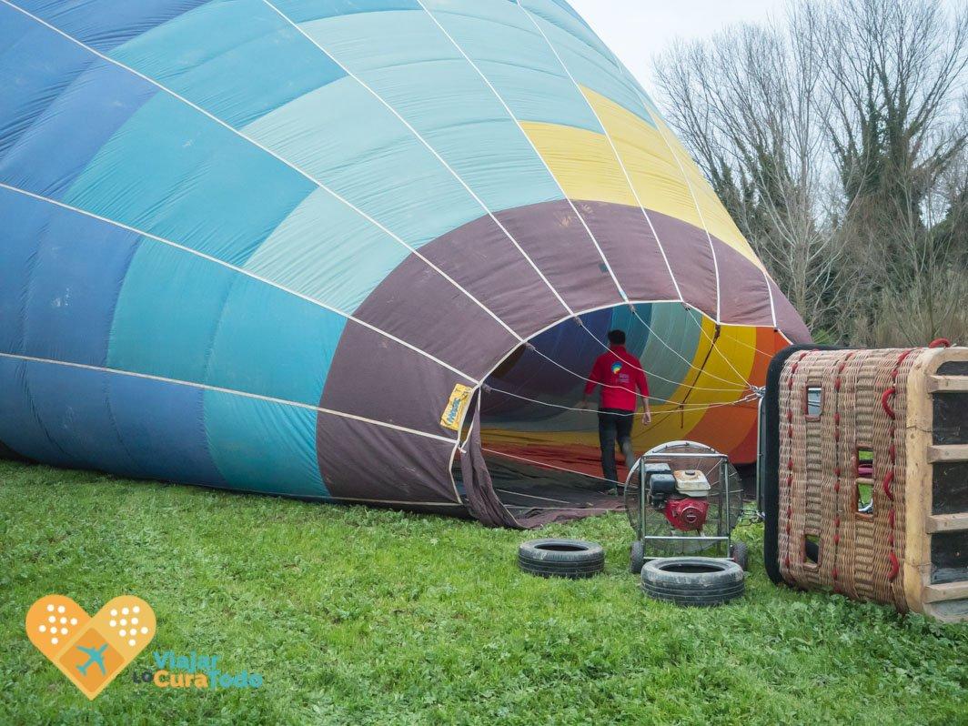 montaje globo