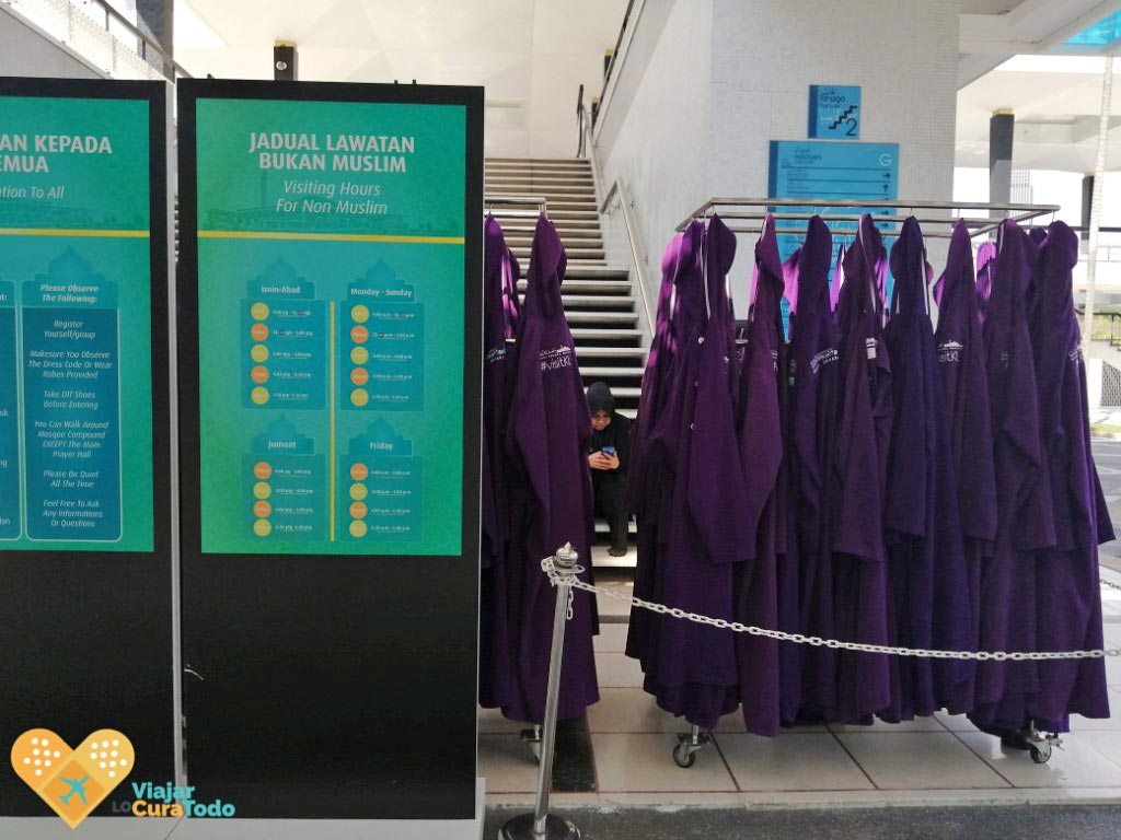 horario mezquitas Kuala Lumpur