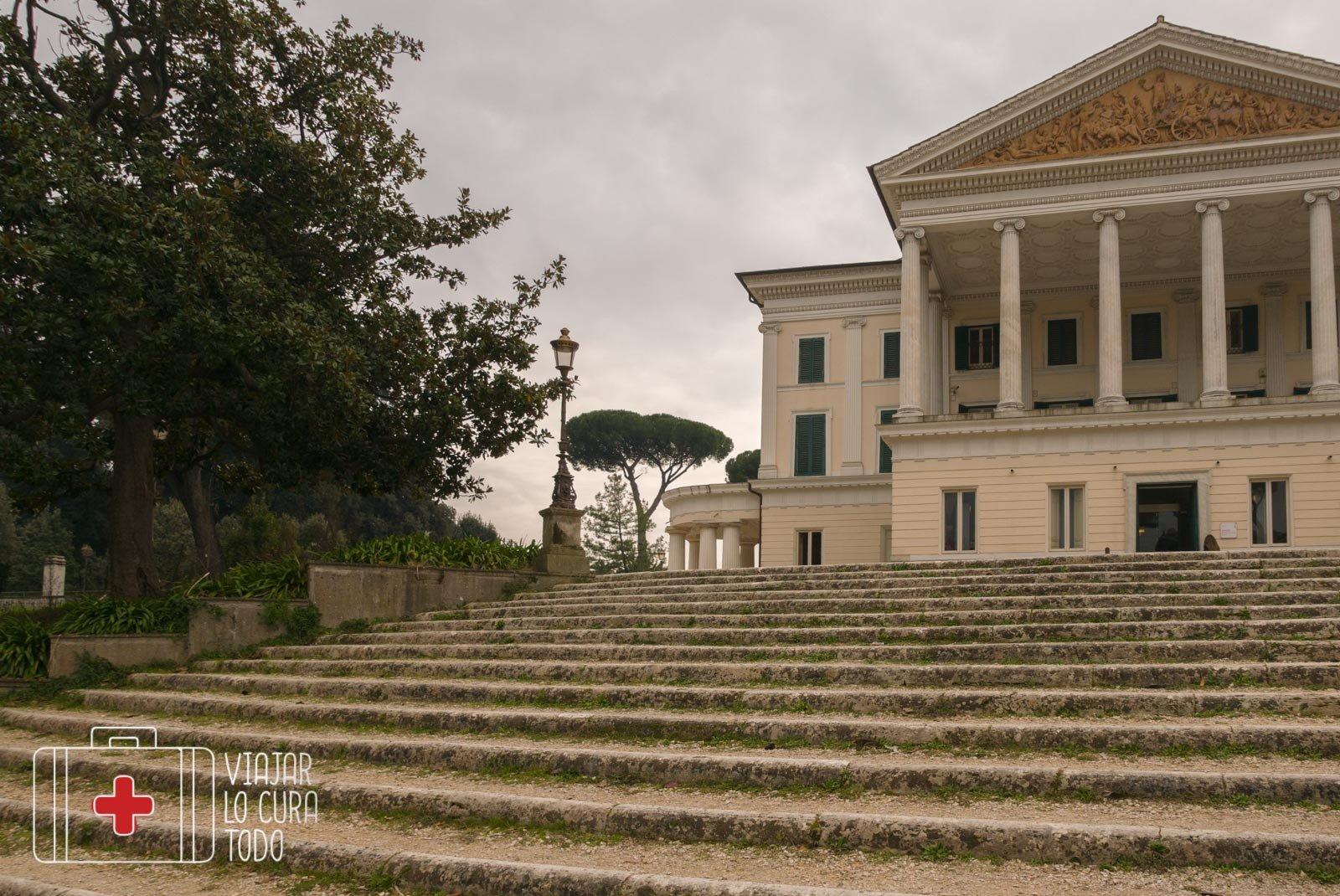 Villa Torlonia, testigo del pasado
