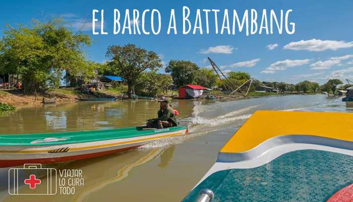El barco a Battambang