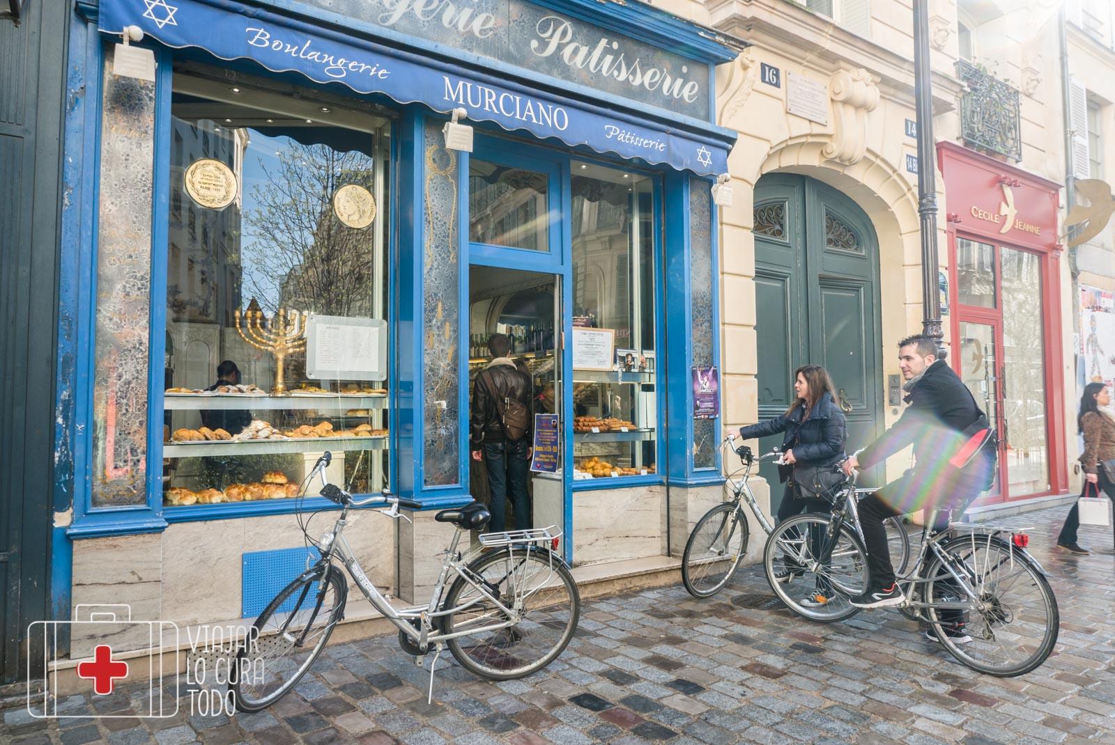 Alquilar una bici en París