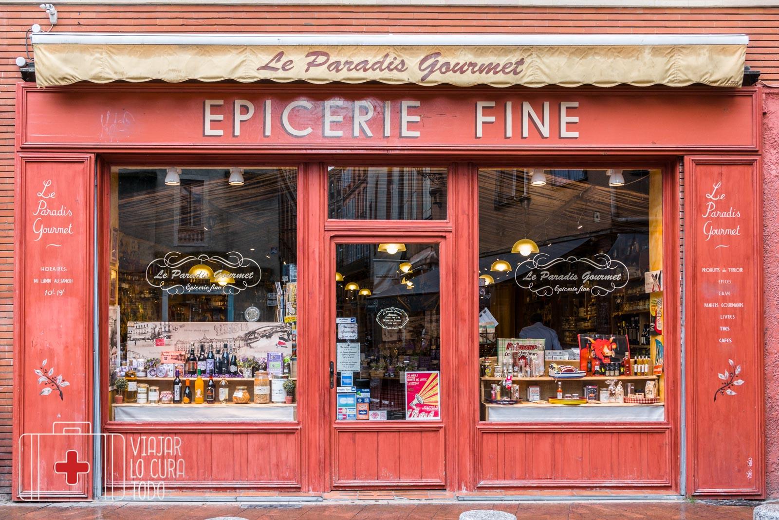 tienda francesa Toulouse
