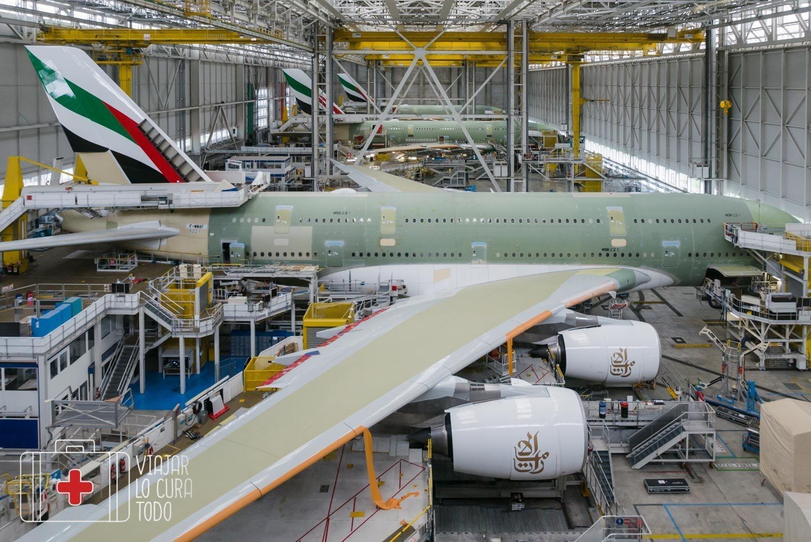 a380 fabricación