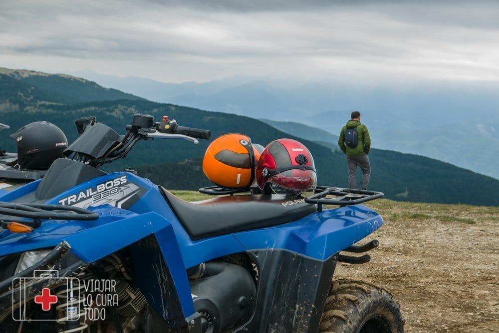 Conducir un quad en Andorra