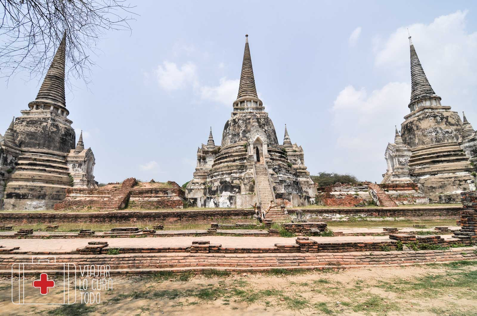 Wat Phra Ayuthaya ThailandiaSi Sanphet