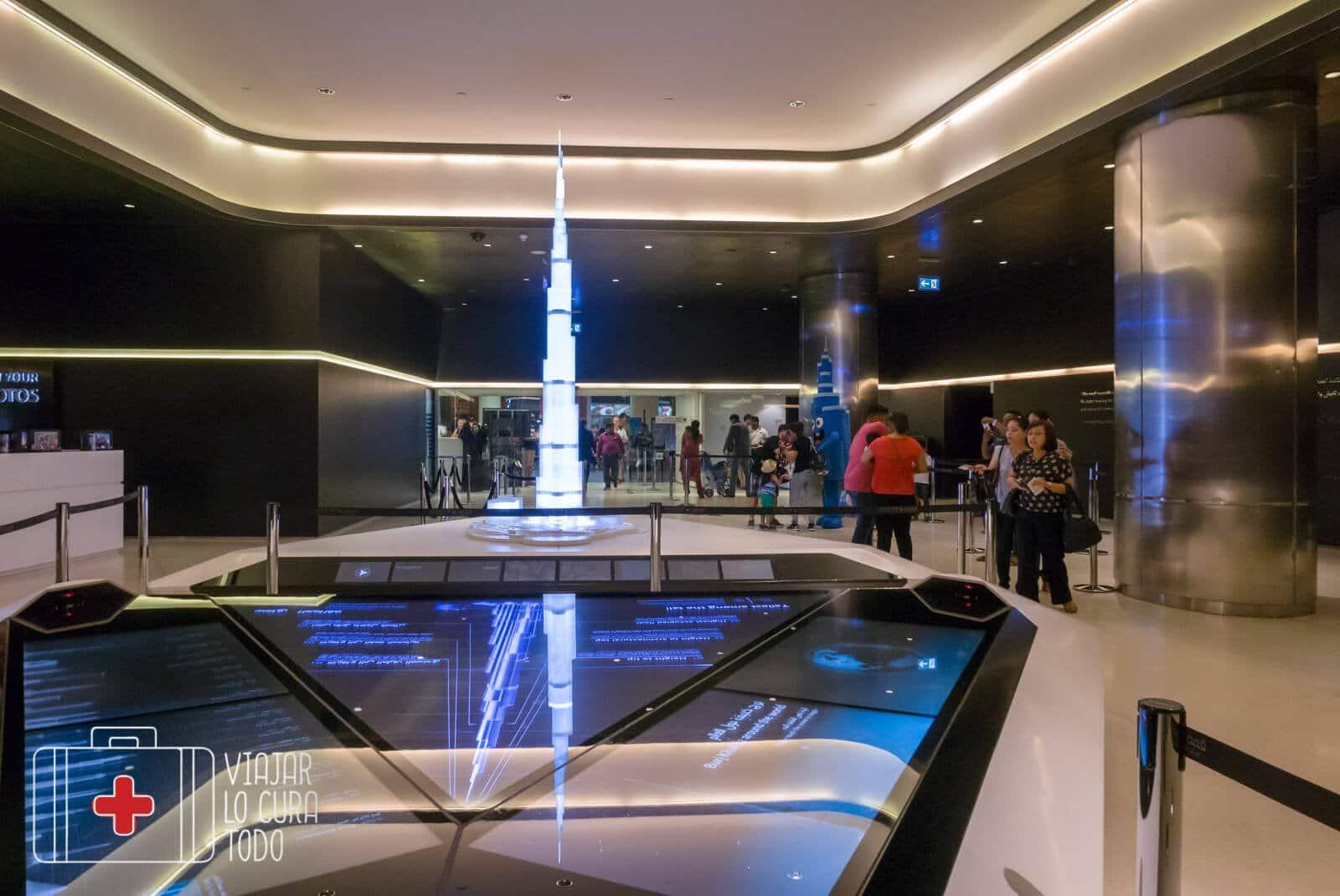 Lobby del Burj Khalifa