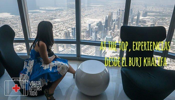 At the Top SKY, experiencias desde el Burj Khalifa