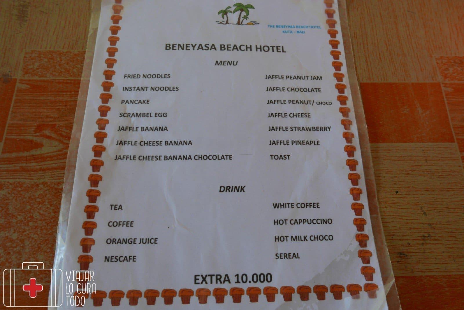 breakfast beneyasa