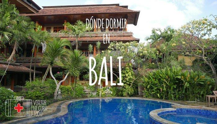 Dónde dormir en Bali