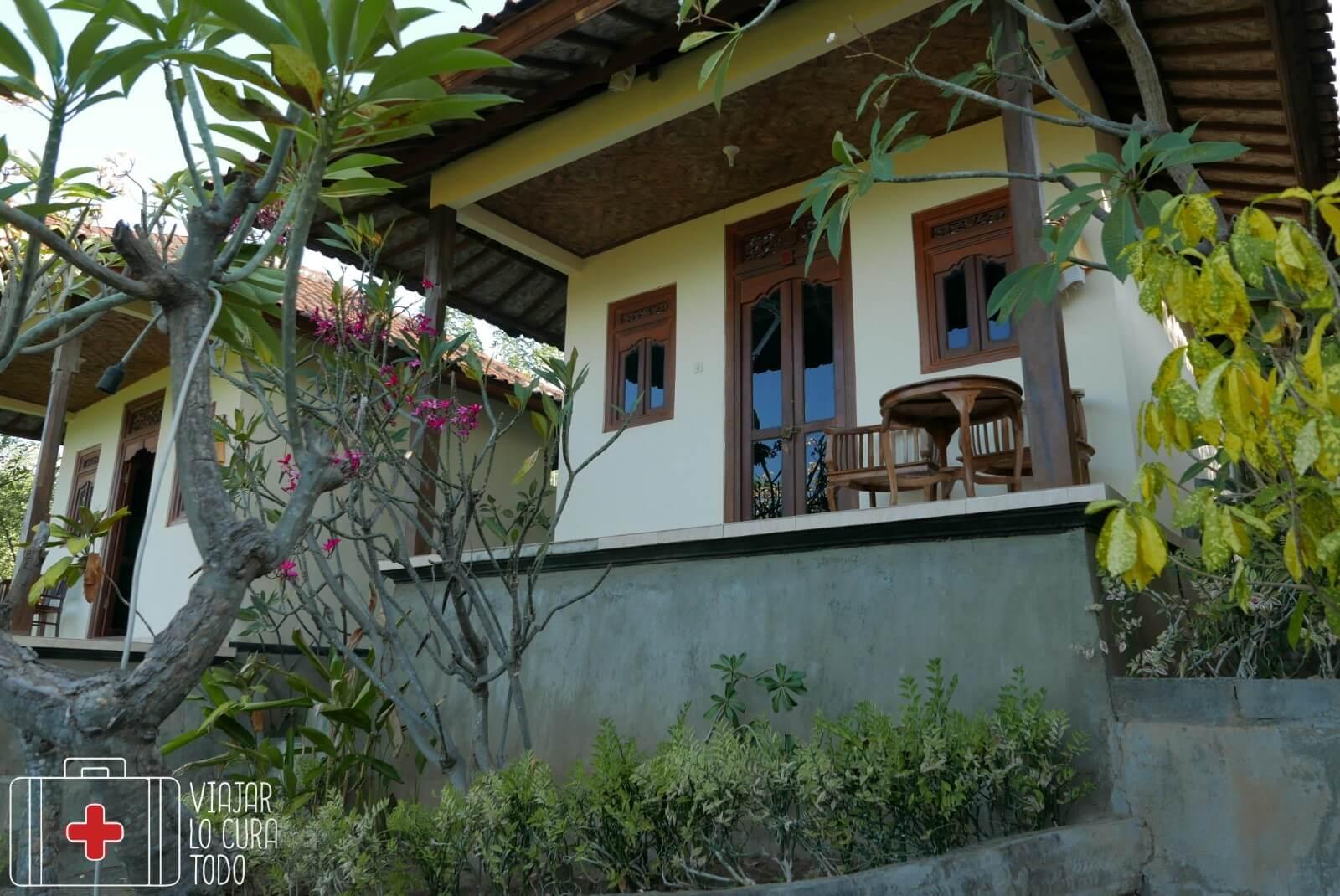 Nuestro bungalow en Amed