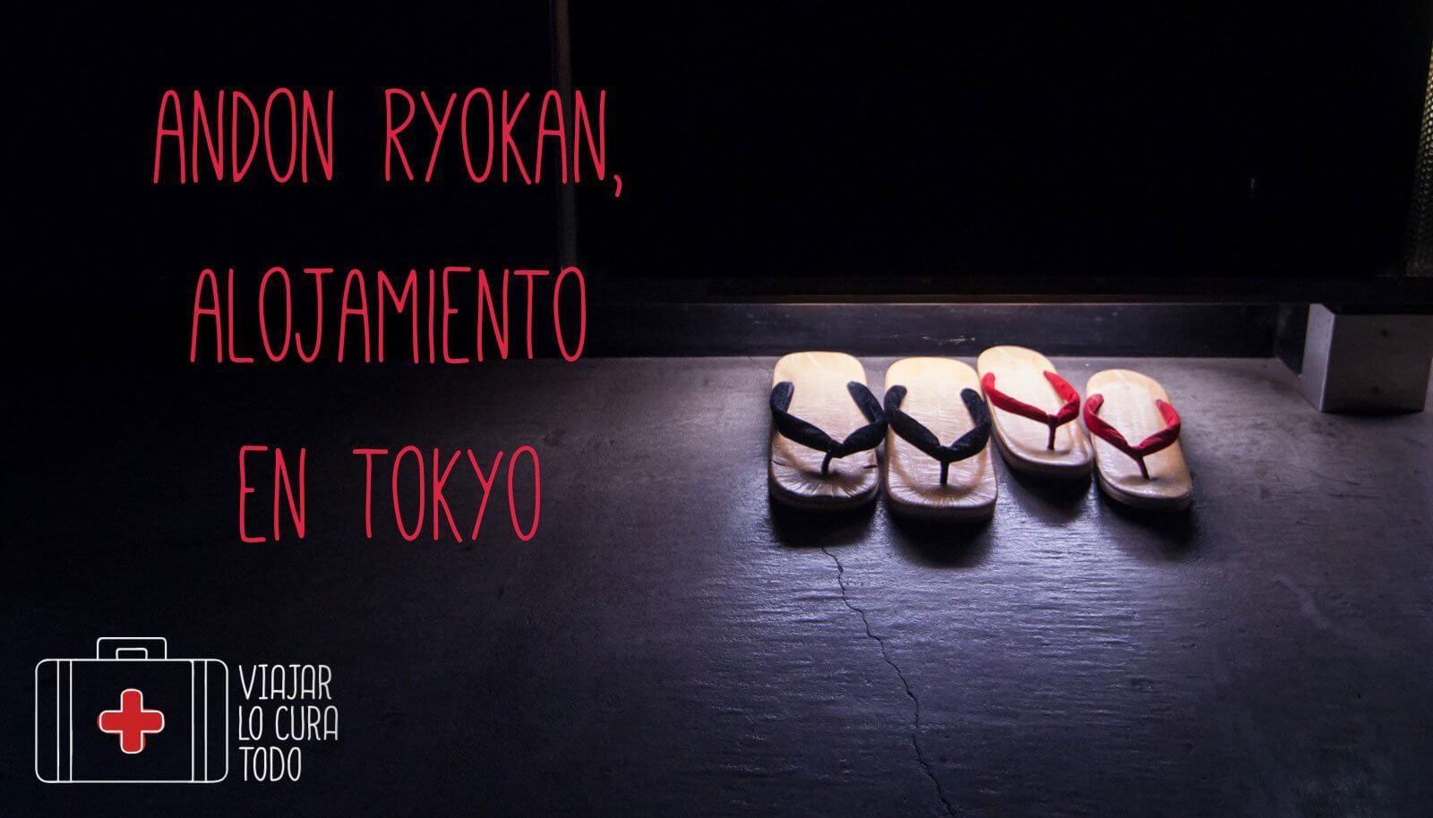 Andon Ryokan, alojamiento en Tokyo