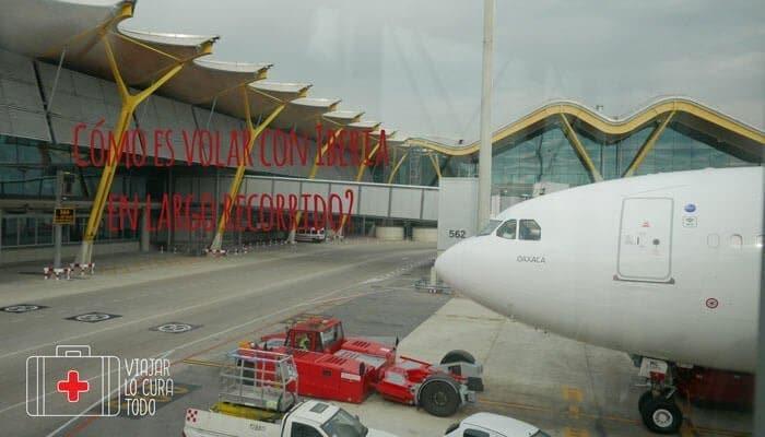 Cómo es volar con Iberia
