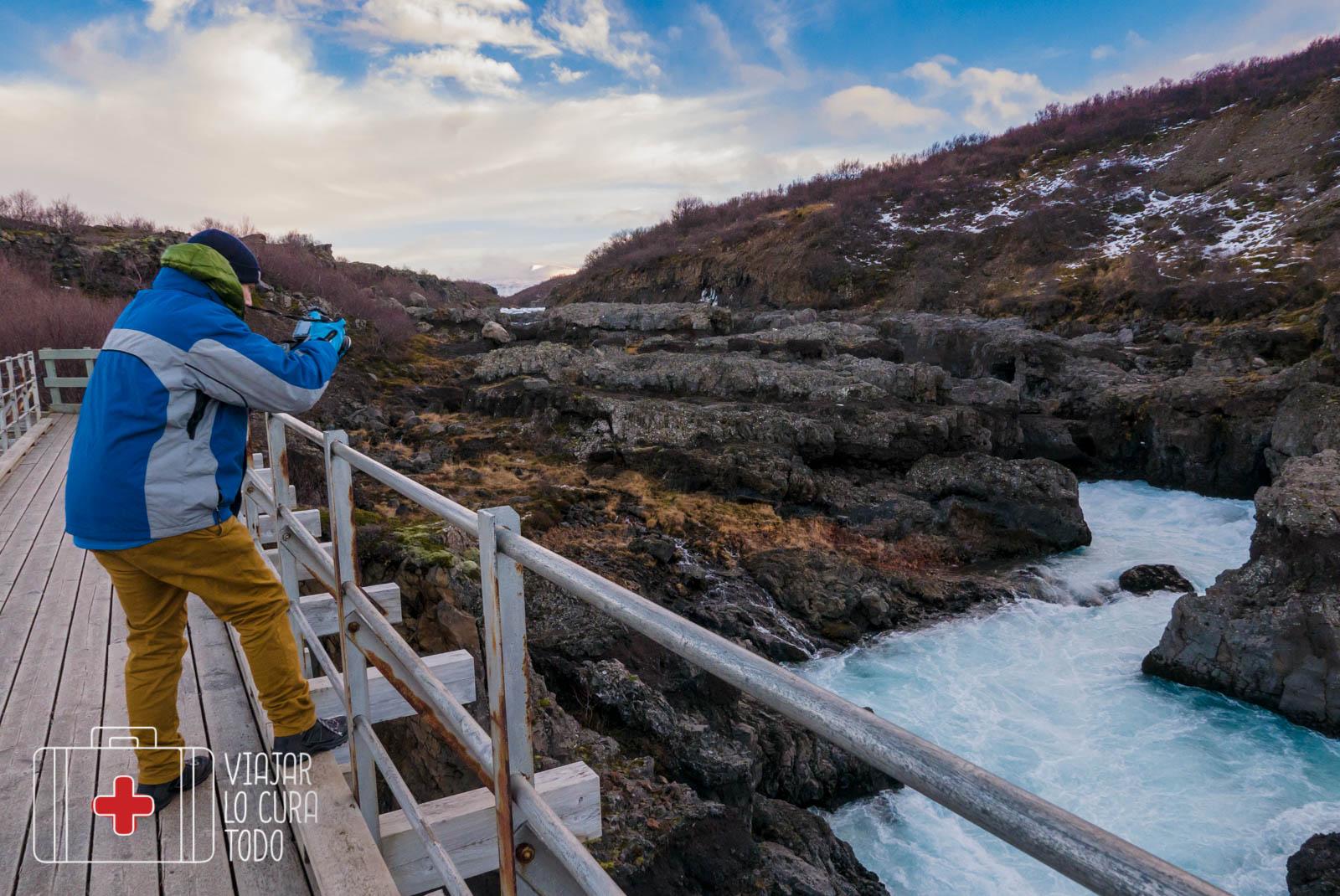 barnafoss iceland