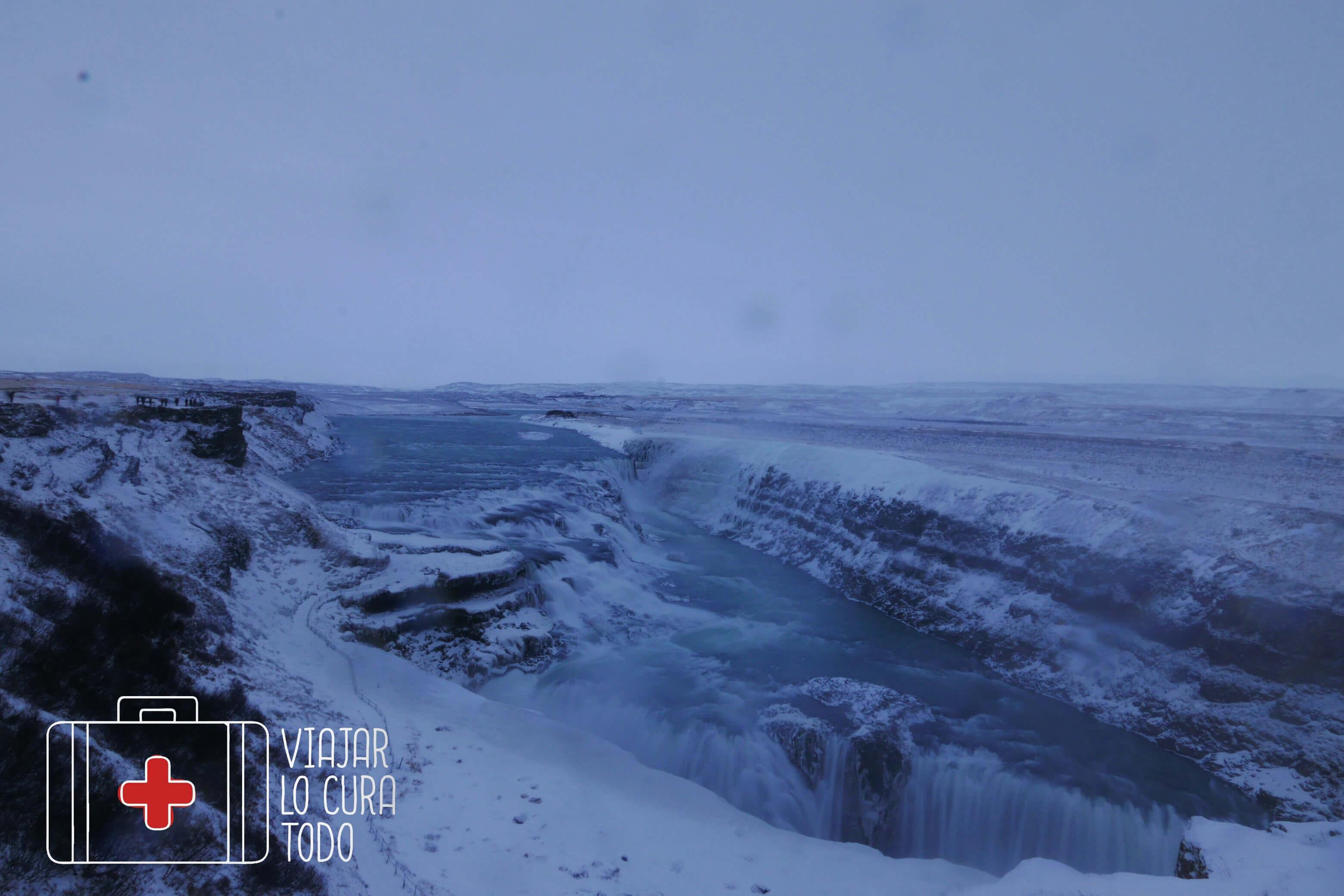 Gullfoss winter