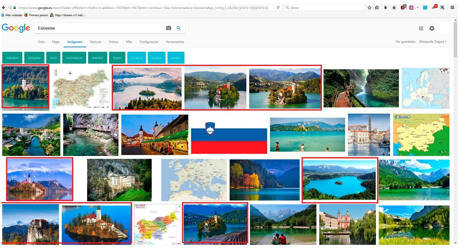 Eslovenia Google