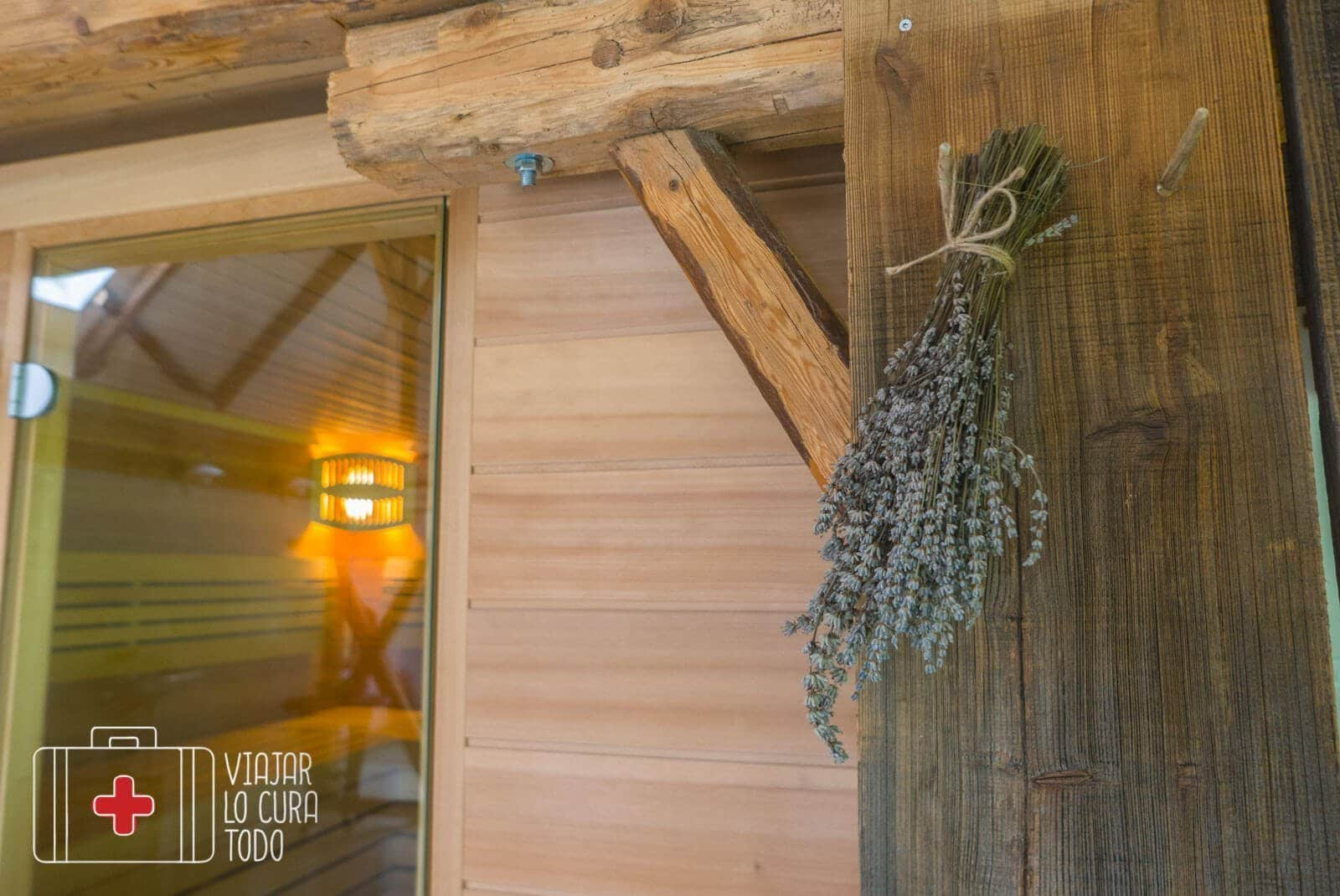 sauna herbal glamping