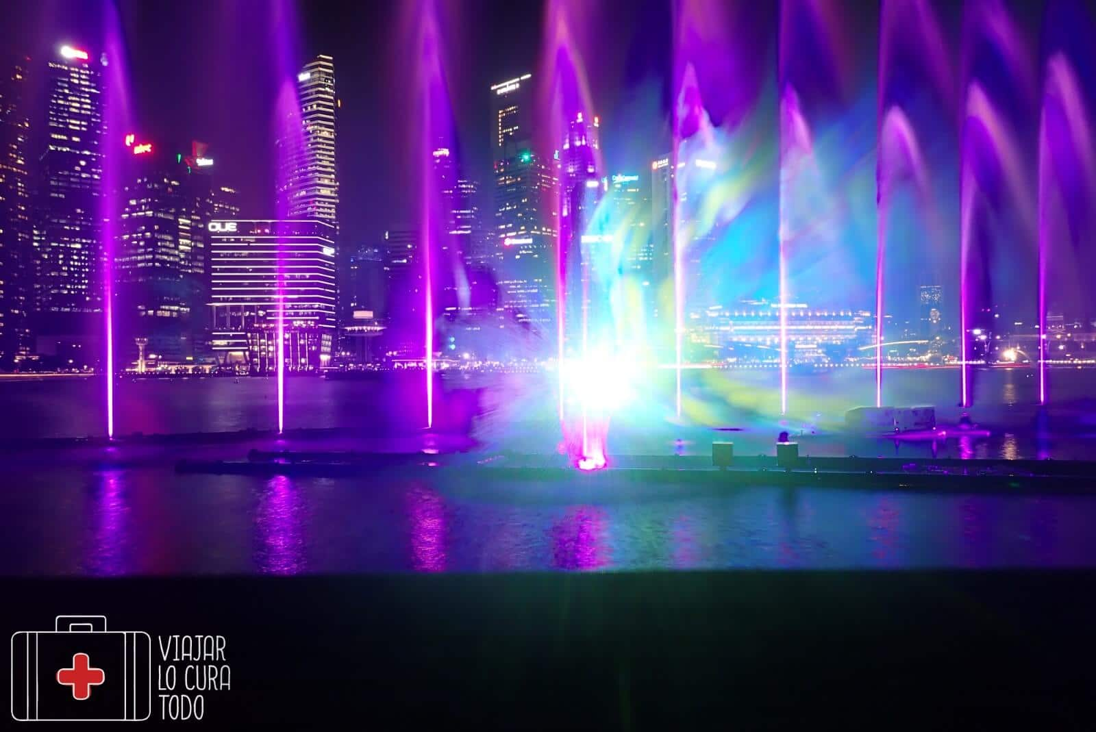 Spectra show singapur