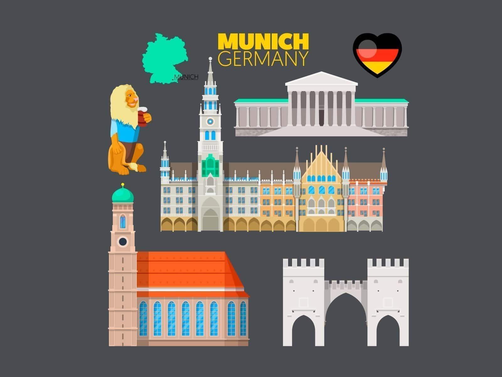 Visitar Múnich en una escala de avión
