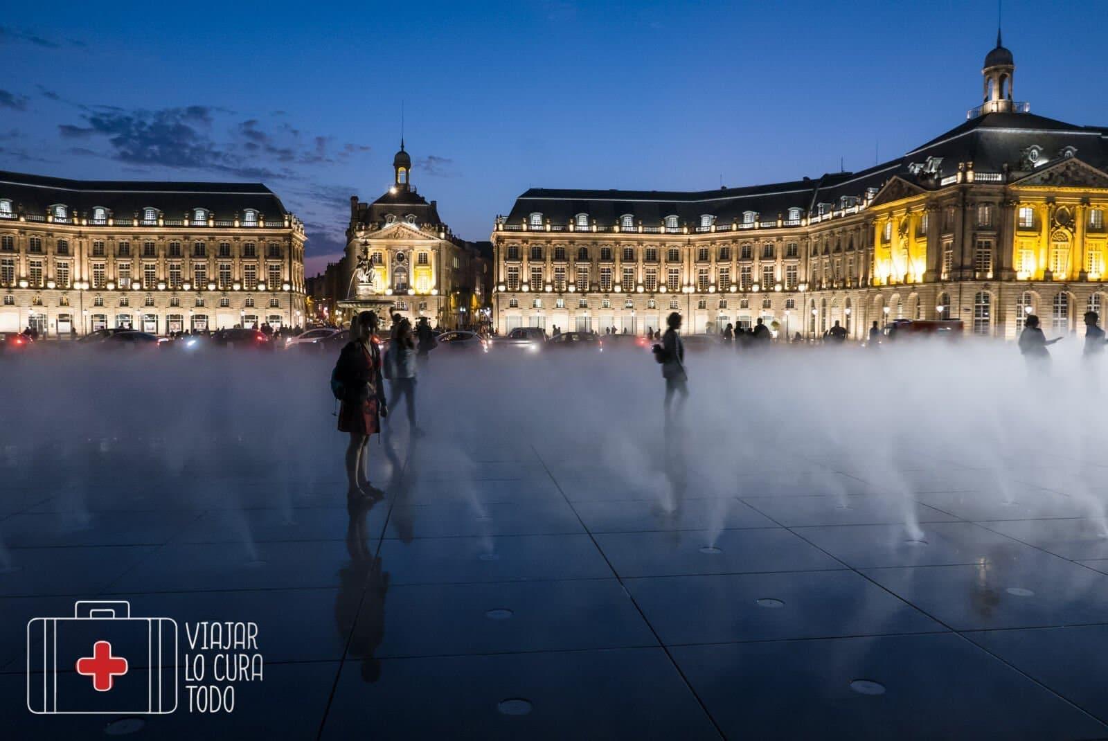 mirror d'eau Bordeaux