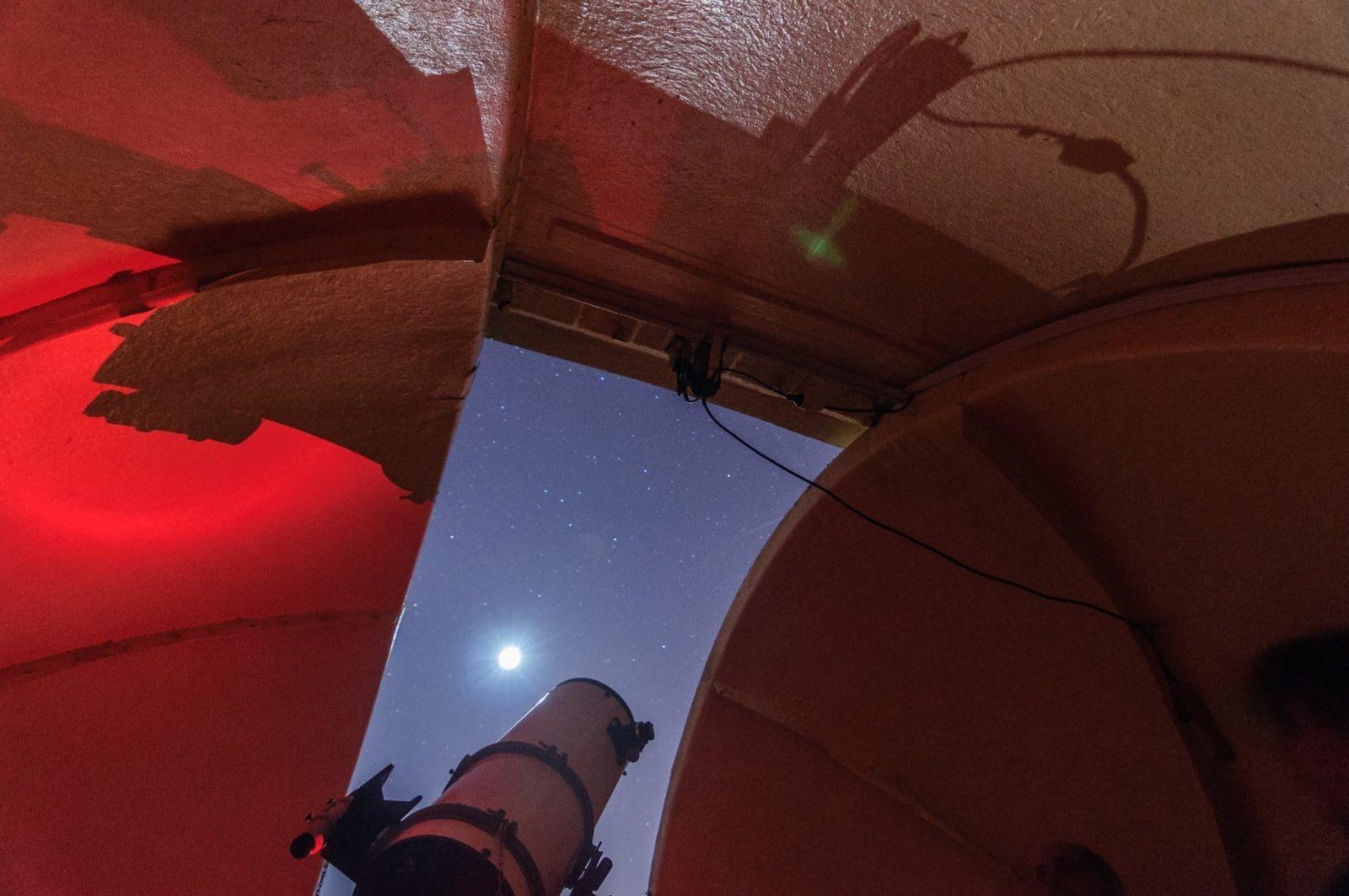 Visita al Observatorio Astronómico del Garraf