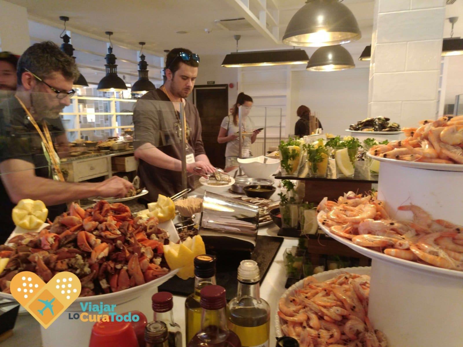 buffet hotel delamar Lloret de Mar