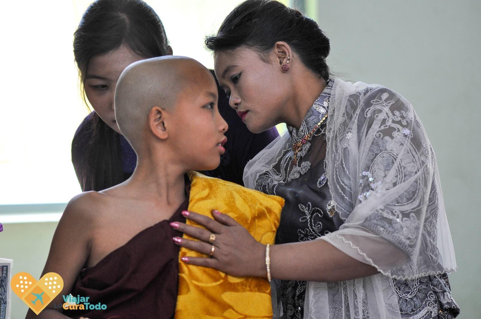 ceremonia Myanmar