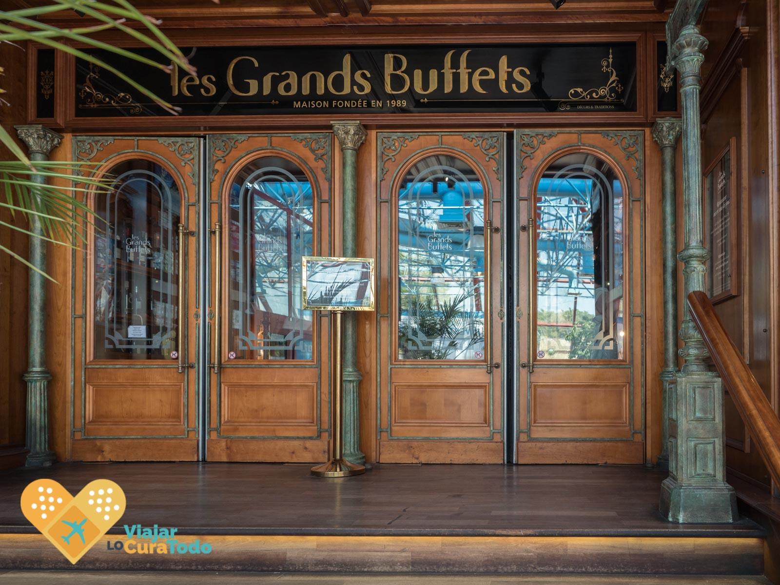 restaurante les Grands Buffets