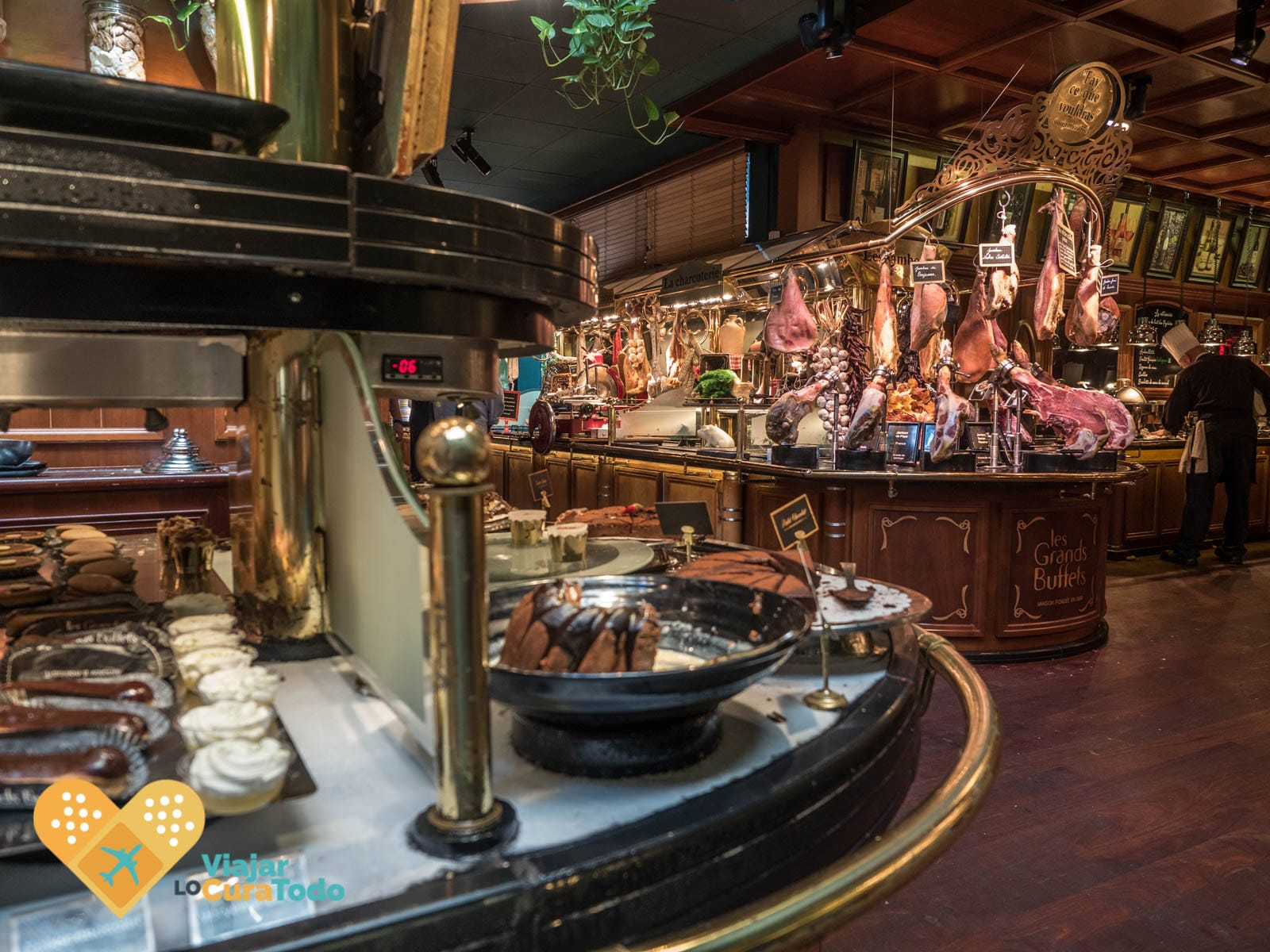Les Grands Buffets, una gran experiencia gastronómica