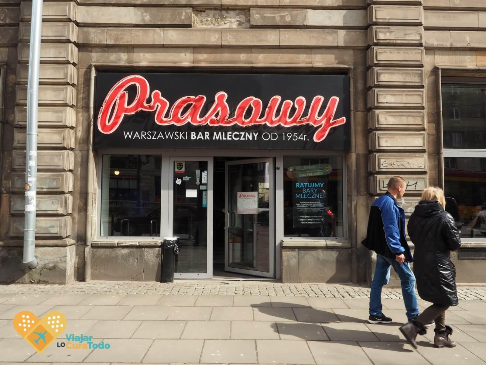 comer barato Varsovia