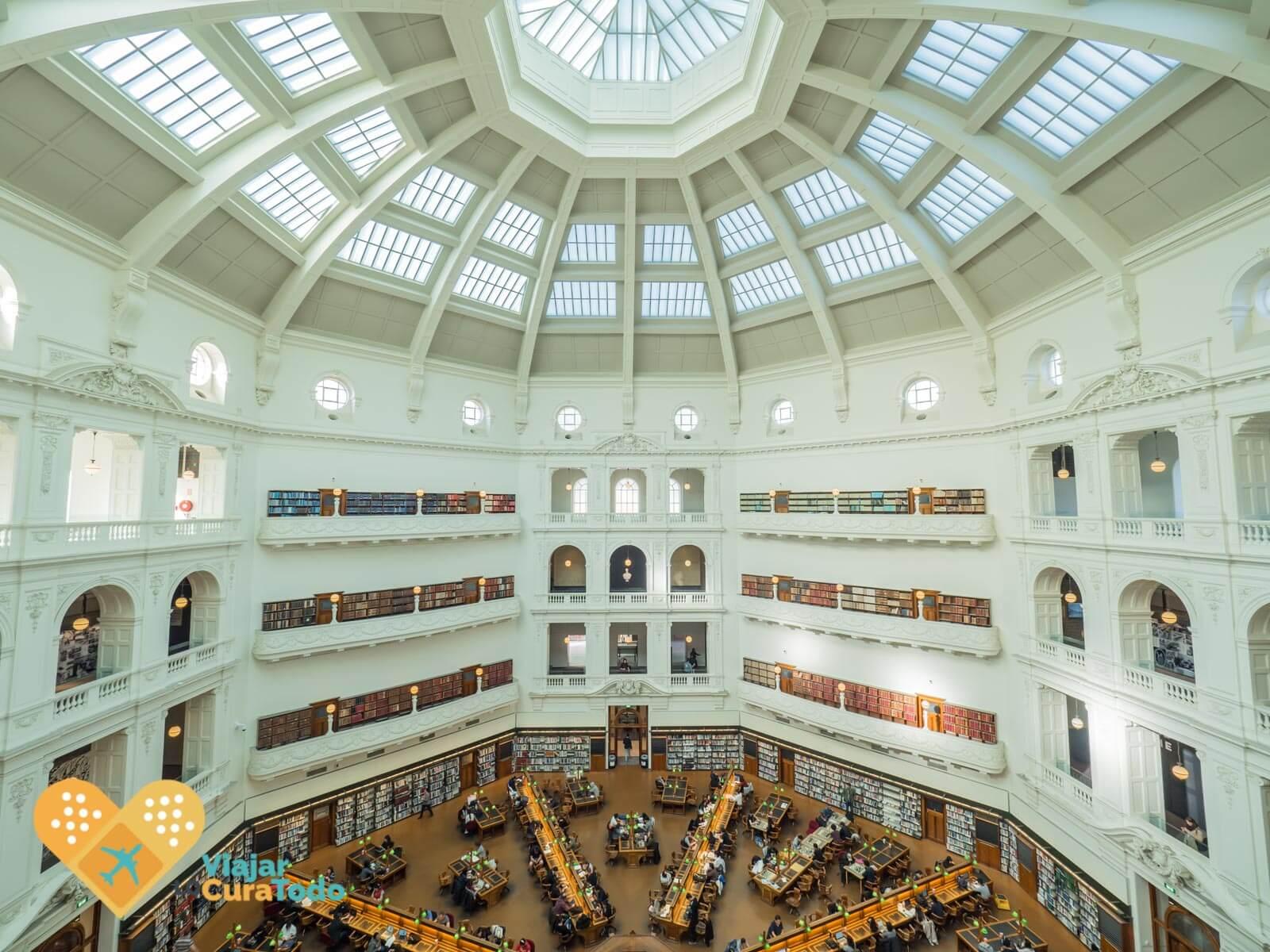 Victoria Library dome